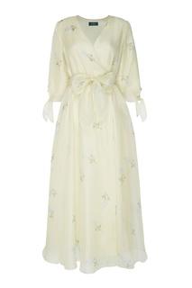 Светло-желтое воздушное платье Alena Akhmadullina