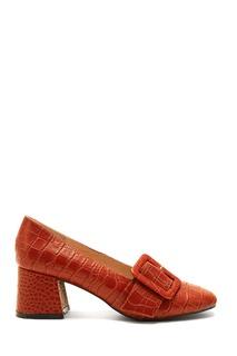 Туфли из фактурной кожи с пряжкой Alena Akhmadullina