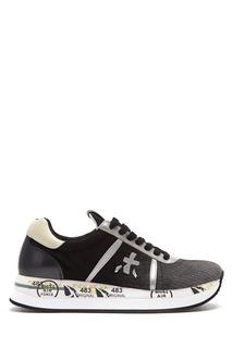 Серые кроссовки из текстиля Conny Premiata