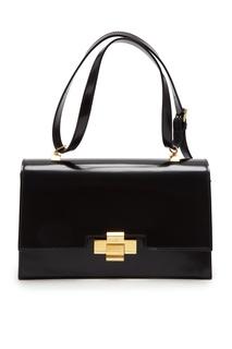 Черная кожаная сумка Alice No.21