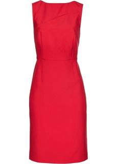 Платье-футляр с прорезью Bonprix