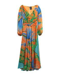 Длинное платье Fontana Couture