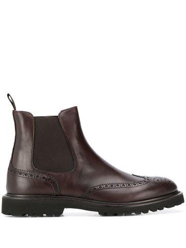 Ботинки броги мужские