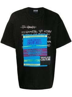 Versace Jeans Couture футболка с короткими рукавами и логотипом
