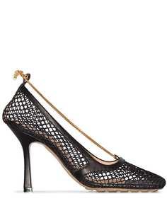 Bottega Veneta туфли-лодочки с сетчатым верхом