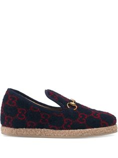 Gucci GG wool loafers
