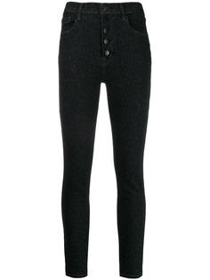 J Brand джинсы скинни Lillie на пуговицах