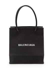 Черная сумка на плечо с логотипом Balenciaga