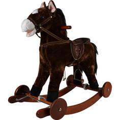 Качалка лошадка Pituso Коричневый 74*30*64см GS2023W