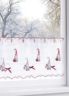 Кухонная штора Новогодние гномы Bonprix