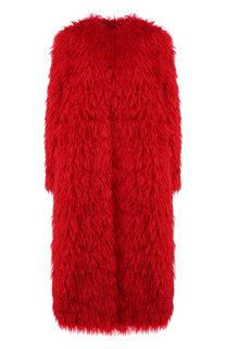 Пальто из смеси шерсти и хлопка Valentino