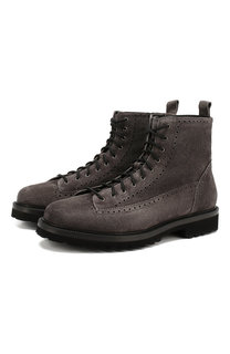 Замшевые ботинки Aldo Brue