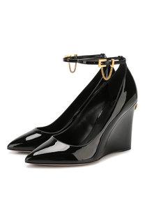 Кожаные туфли Valentino Garavani Ringstud Valentino
