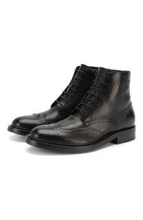 Кожаные ботинки Army Saint Laurent