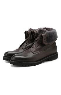Кожаные ботинки Doucals