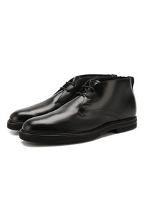 Кожаные ботинки Tod's Tods