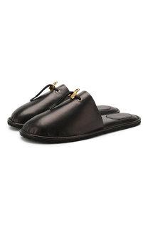 Кожаные домашние туфли Buscemi