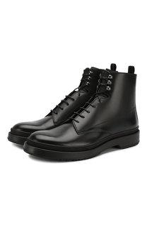 Кожаные ботинки BOSS