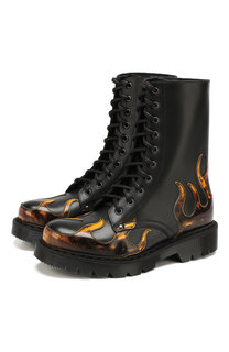 Кожаные ботинки Vetements
