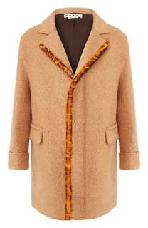 Шерстяное пальто Marni