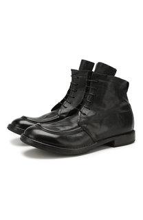 Кожаные ботинки Moma