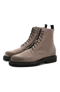 Замшевые ботинки Vic Matie