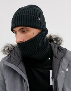 Черная шапка-бини с неквормером The North Face