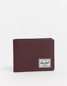 Бордовый кошелек для карт Herschel Supply Co