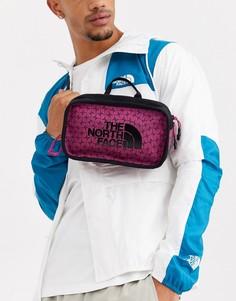 Розовая сумка-кошелек на пояс The North Face Explore
