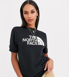 Черная футболка с принтом The North Face