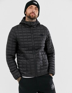 Черная куртка с капюшоном The North Face Thermoball Eco