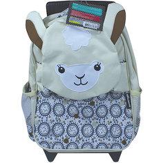 Рюкзак-чемодан Deglingos Muchachos The Lama белый