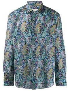 Etro рубашка с принтом пейсли