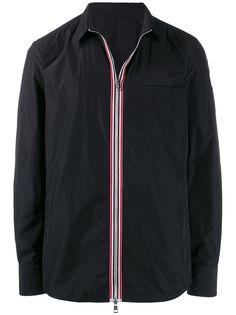 Moncler куртка с контрастной отделкой