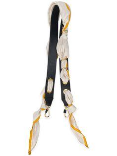 Chloé pull through scarf bag strap