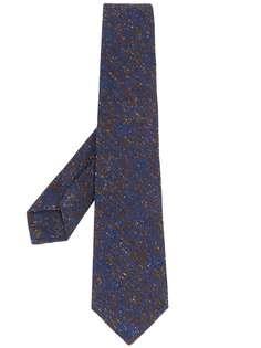 Kiton галстук с цветочным узором