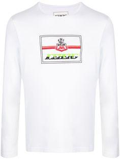 Iceberg футболка с длинными рукавами и логотипом