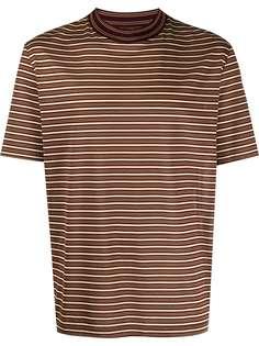 LANVIN полосатая футболка с короткими рукавами