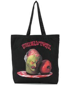 Bernhard Willhelm сумка-тоут с принтом