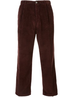 Haikure укороченные вельветовые брюки