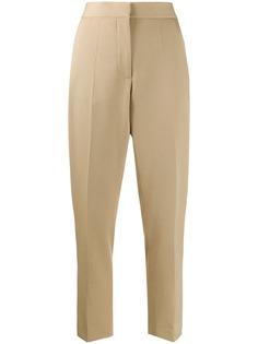 Burberry зауженные брюки строгого кроя