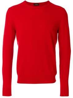 Zanone свитер с круглым вырезом