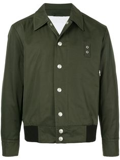 CK Calvin Klein куртка-бомбер узкого кроя