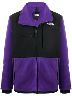 The North Face panelled zip-up jacket