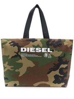 Diesel сумка-тоут с камуфляжным принтом
