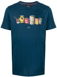 PS Paul Smith футболка с принтом Can