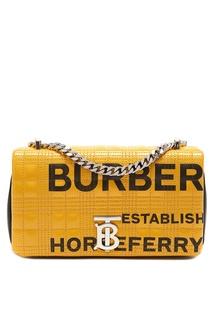 Черно-желтая сумка Lola с принтом Horseferry Burberry