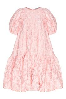 Розовое платье оверсайз Alexa Cecilie Bahnsen