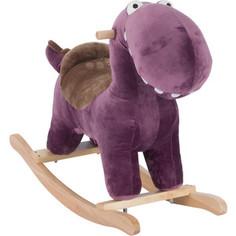 Качалка игрушка Leader Kids Динозаврик, ФИОЛЕТОВЫЙ