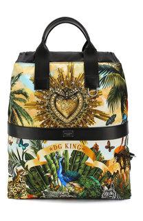 Комбинированный рюкзак Dolce & Gabbana